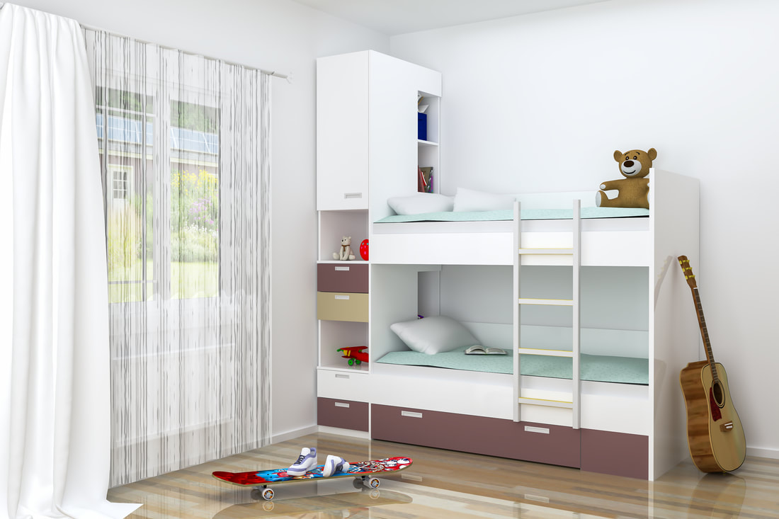 Foster Care Foster Palm Beach Child Bedroom Bunk Beds